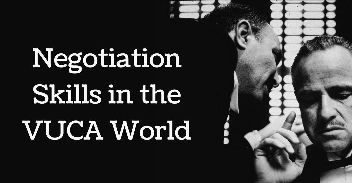 negotiation skills in the vuca world