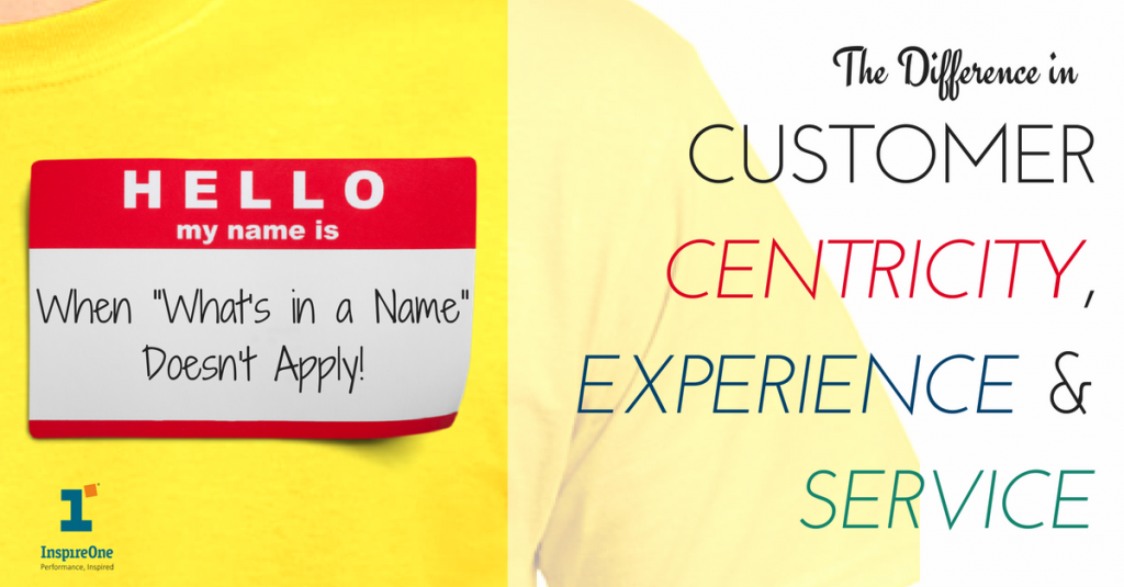 Customer Centricity Experience